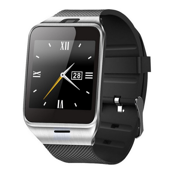 Smart Watch Aplus GV18 Clock Sync Notifier Support Sim Card Bluetooth Connectivity Apple iphone Android Phone Smartwatch Watch