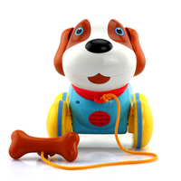 Electronic Toy Cable Machine Dog Intelligent Electric ABS Material Children's Gift Parent child Exchange Interactive Toy YJ2048