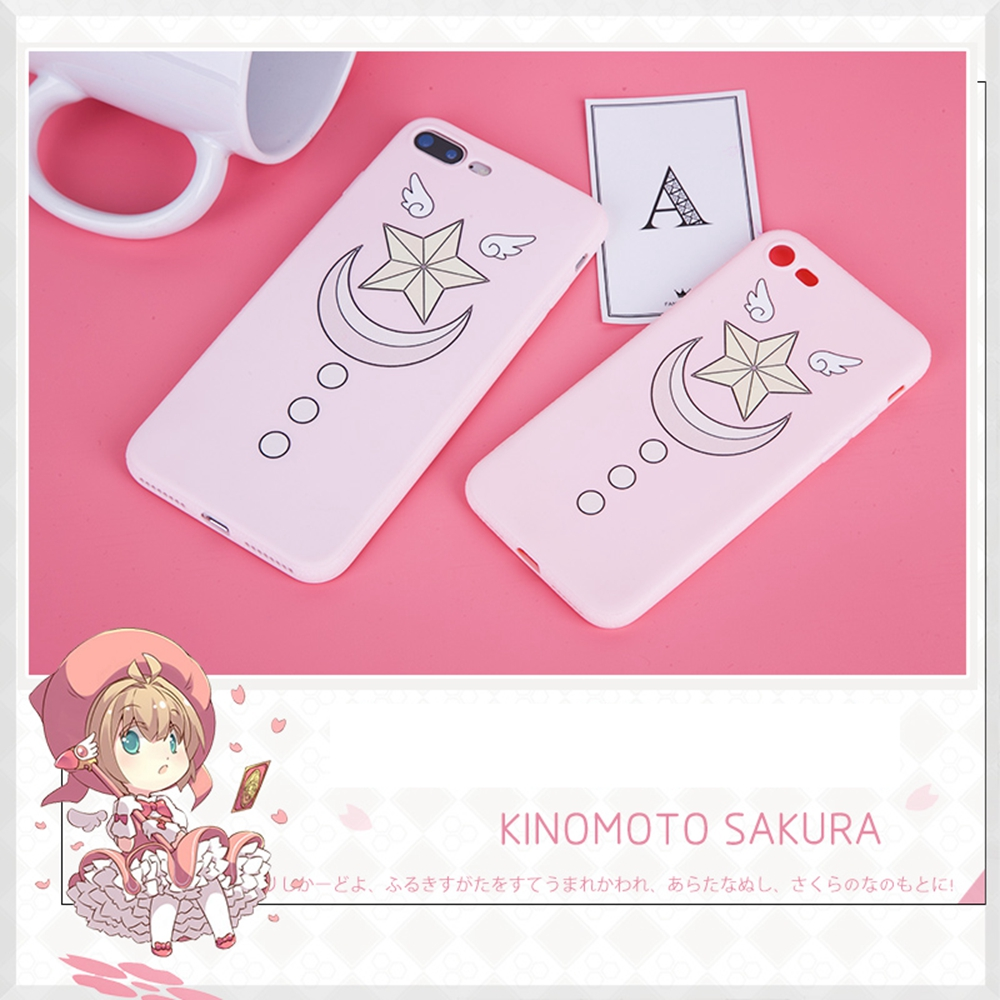Novelty & Special Use Costume Props Anime Jk Cardcaptor Sakura Kinomoto Iphone 7 8 Or Plus Phone Case Star Magic Stick Prop Cosplay Cartoon Cute Pink Gift Professional Design