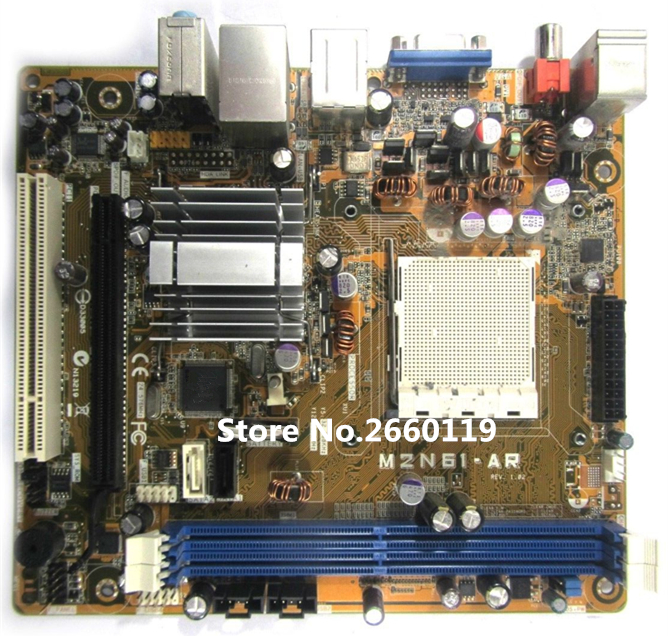 High quality desktop motherboard for M2N61-AR 5189-0683 GL6E Fully tested бинокль bushnell powerview roof 10x42 камуфляж