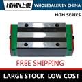 HIWIN квадратные тяжелые линейные блоки HGH20CA линейные перевозки и линейные направляющие доступны как части CNC