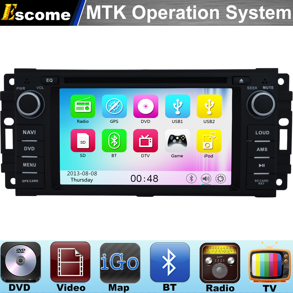 MTK3360 Car DVD Player For Chrysler Sebring 2007 2012