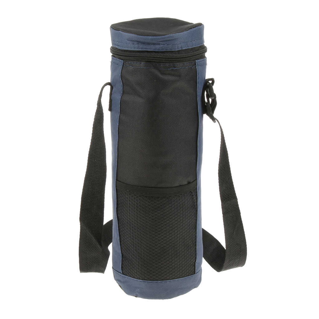 2L 防水水ボトルクーラーキャリーバッグ絶縁オックスフォード屋外キャンプハイキングピクニック水ドリンクボトルランチポーチ