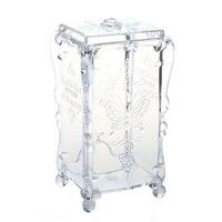 5 Pcs Of Swab Organizer Cotton Pad Box Jewelry Box Jewelry Box Cosmetic Case Acrylic