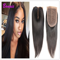 HC Mocha grade 8a unprocessed virgin hair with closure Peruvian Straight Hair Lace Closure 4 Bundles custom made human hair wigs