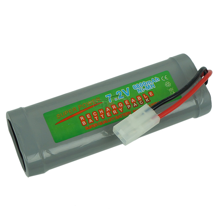 7.2V 6800mAh Ni-MH Rechargeable Battery For RC Car High Capacity Power Super Safe Endurance Free Shipping 2 pcs 3 6v 2100mah ni mh rechargeable power tool battery replacement for black