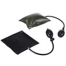 1pc Car Door Window Open Air Inflatable Pump Wedge Pad Entry Shim Tool Auto Repair Tools Black/Green