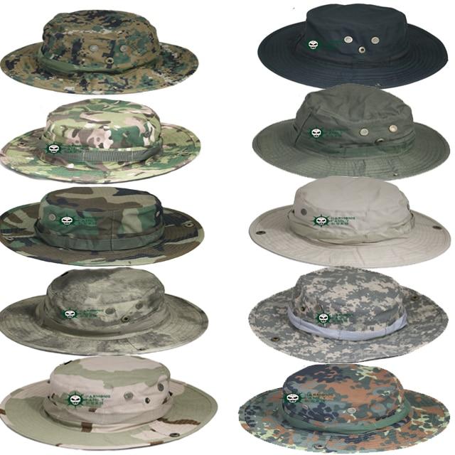 ᗔMilitar ejército Tactical Bonnie sombrero Caza sombrero redondo de ...
