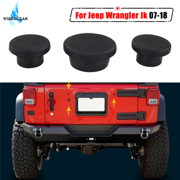 Tailgate Durable Small Rubber Plugs Removable Snug Hole Plug For Jeep Wrangler JK 2007-2018 Car Exterior Accessories WISENGEAR / image
