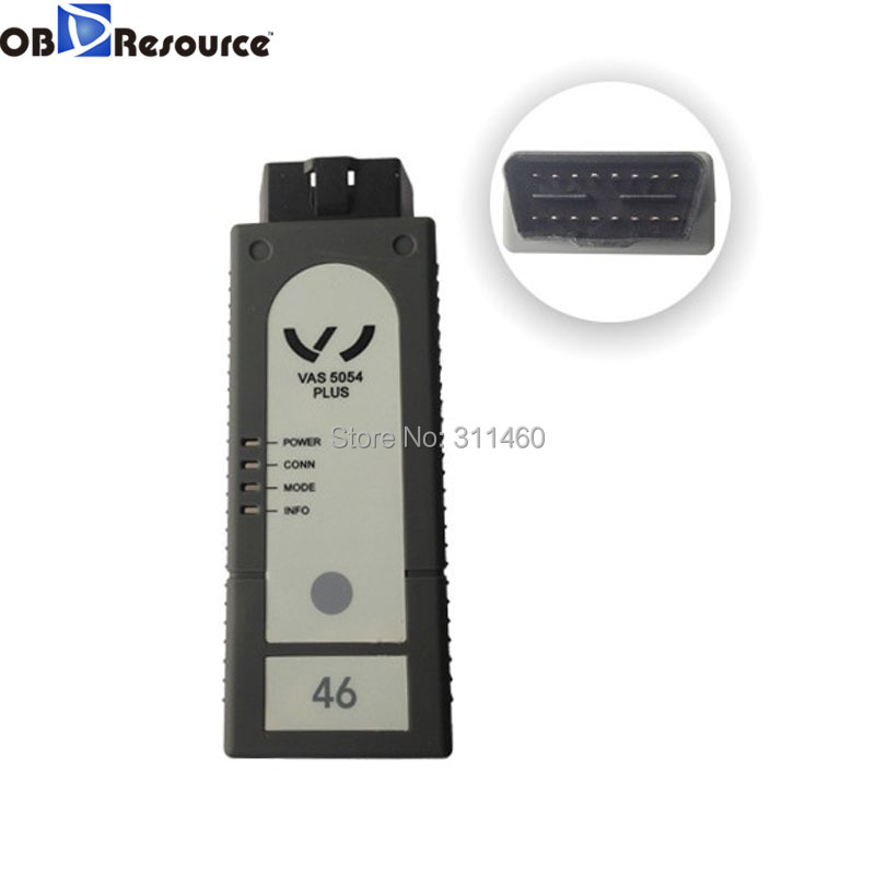 OBDResource for VAG VAS 5054 Plus ODIS V3.0.3 with OKI Chip support UDS protocol USB and Bluetooth connection vas5054+ diagnose
