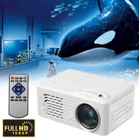 2018 Hot Sale Projector UC28A Mini Portable HD Multimedia LED Projector Home Theater Support TF Card