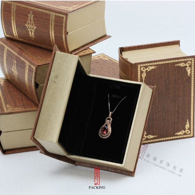 The Bible Book jewelry Boxes or jewellery case for Love rings