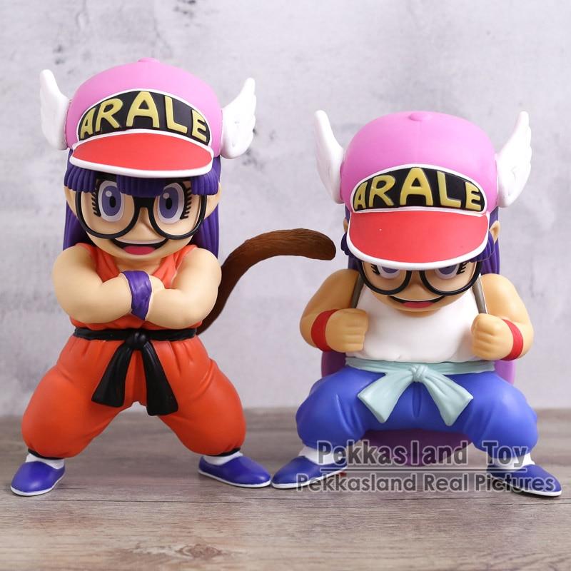 Dr. Slump Arale Cosplay Dragon Ball Z Son Goku Crilin Anime Cartoon  Divertente PVC Figure 673e9d776388