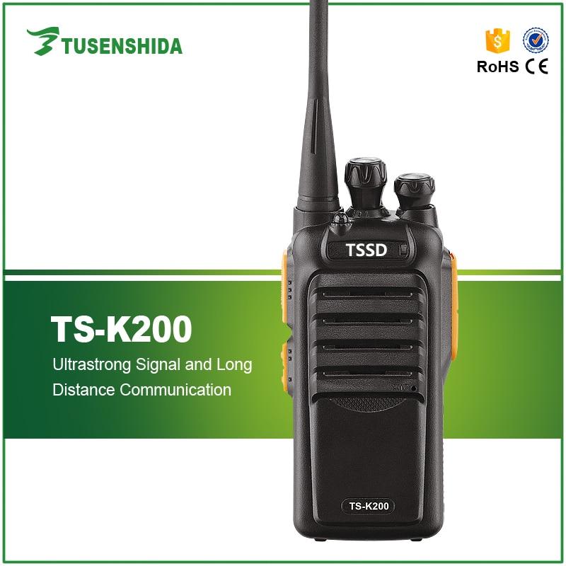 Free Shipping Scrambler Function Built-in Flashlight 2W UHF Ham Radio TS-K200