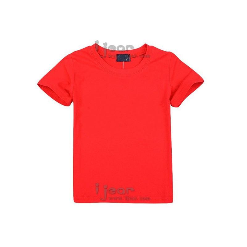 Fashion Brand Children T Shirt Short Sleeve Cotton Sport