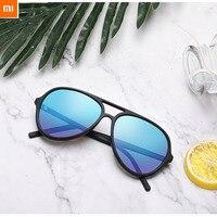 Original Xiaomi Youpin TS Ice Blue Aviator Sunglasses Fashion Sunglasses For Summer Travel
