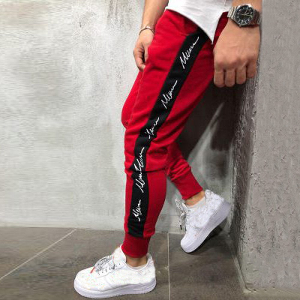 FeiTong Sweatpants Men Clothes...