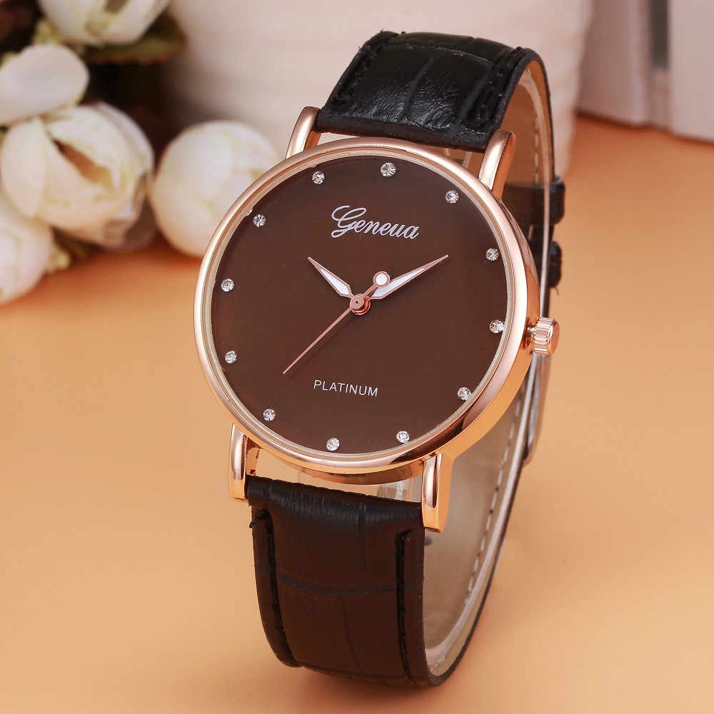 Black Black relojes hombre 2018 Retro Design men's watch  Leather Band Analog Alloy watch men Quartz Wristwatch