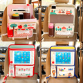 New Desenhos Animados Dobrado Organizador Banco de Trás Do Carro de Multi Bolso De Armazenamento saco de caixa de toque ipad titular pendurado saco de armazenamento para as crianças crianças