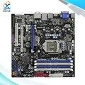 Para asrock h55m pro original usado madre de escritorio de intel h55 Socket LGA 1156 Para i3 i5 i7 DDR3 16G SATA2 USB2.0 ATX