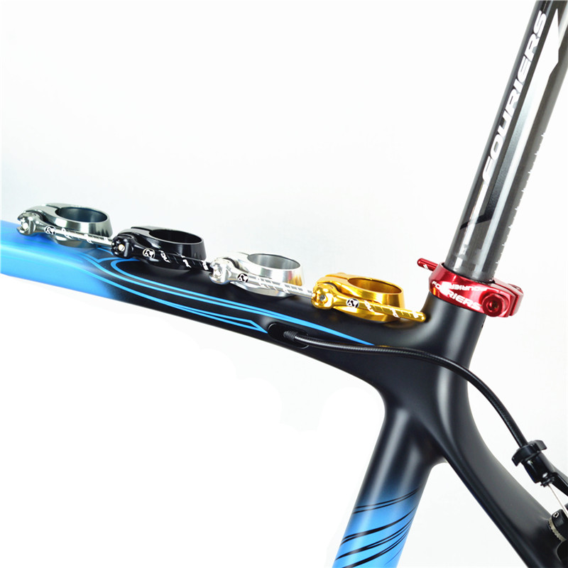 Fouriers Mountain Bike Bicycle Seatposts Clamps Quick Release Aluminium Alloy Bicycle accessories 31.8mm 34.9mm
