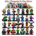 2017 Individuales Más Nuevos y Clásicos Marvel X-MAN Avengers Justice League DC Super Heroes Modelos y Juguete Del Edificio Bloques