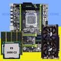 HUANAN ZHI X79 placa base CPU RAM tarjeta de vídeo con M.2 Xeon E5 1650 C2 3,2 GHz RAM 32G (4*8G) 1600 RECC GTX760 4GD5 tarjeta de video