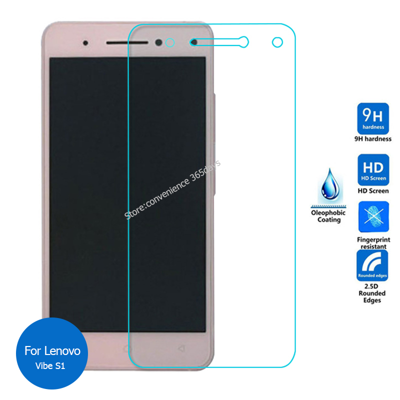 For Lenovo Vibe S1 Tempered Glass Screen Protector 2.5 9h Safety Protective Film on VibeS1 S 1 Turbo S1a40 S1c50 a40