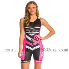 Betty cycling skinsuit triathlon suit sleeveless women sexy swimwear bike sports team running tight swimsuit ropa ciclismo mujer цены
