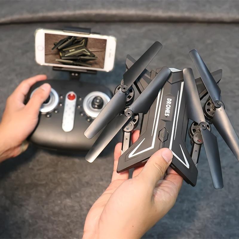 Foldable RC Dron Altitude Hold WIFI Camera FPV Gyro Selfie Height Hold RC Quadcopter Drone Quad RTF VS VISUO XS809HW JJRC H37
