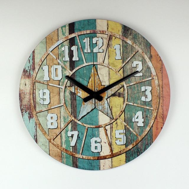 Antike Dekoration Wanduhr Uhr Moderne Design Garantie 3 Jahre Mehr  Schweigen Großer Größe Wanduhr Für Wohnzimmer