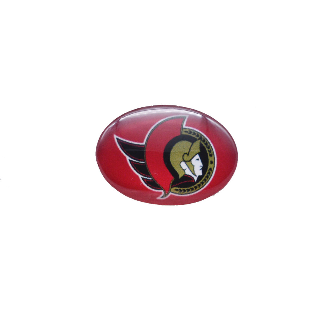 Snap Button 18mmX25mm NHL Ottawa Senators Charms Snap Bracelet for Women Men Ice Hockey Fans Gift Paty Birthday Fashion 2018