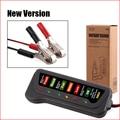 Big promotion High Quality 12V Digital Battery / Alternator Tester with 6 LED Lights Display Car Vehicle Battery Diagnostic Tool