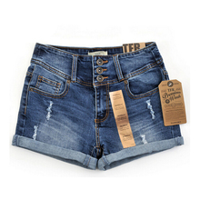 2017 Summer New Korean Women Thin Beaded Three-dimensional Hole High Waist Shorts Denim Shorts for Women Loose Plus Jeans Short