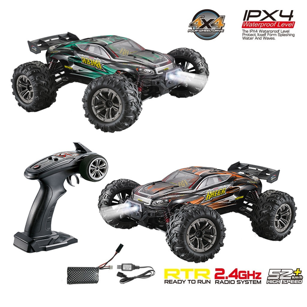 RC Drift Car Q903 Brushless 2.4G 1:16 4WD 52km/h High speed Off road Monster Truck RC Car RTR anti vibration 2019 NEW drop ship