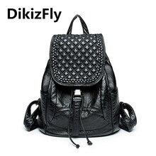 Dikizfly! Япония и корейский стиль рюкзаки женщин сумки Женский Бренд Back Pack колледж школу рюкзак старинные студент школьный