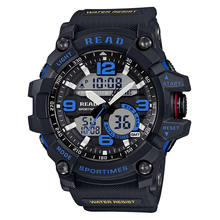 Tezer 90001 Fitness Casual Watch Men G Style 30M Waterproof Sports Military Watches Shock  Digital Quartz смарт часы miland стаканы бумажные футбольный матч 6 шт