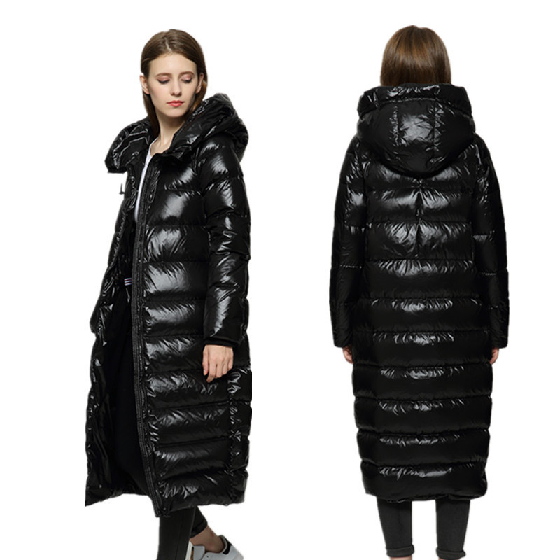 New Winter women's Coat women's Warm Clothing europe women's down Jacket Pregnant outerwear overcoat white duck down 990 new arrival 2018 winter europe fashion women s duck down coat