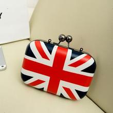 2015 New Hot Evening Bags Female box m word flag bag dinner cross-body chain of packet