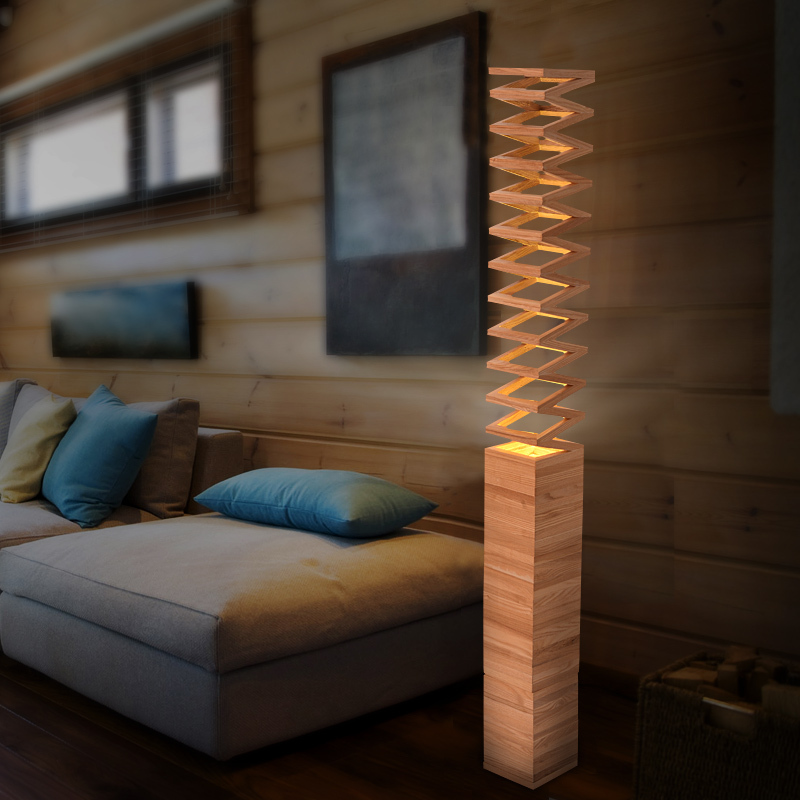 Light Induced Ikea Scandinavian Minimalist Wooden