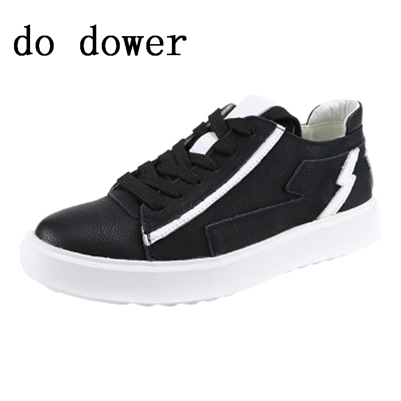Spring New Men Casual Shoes Luxury Trainers Summer Male Young Male Genuine Leather Shoes Lace-up Flats Black Sneakers ботинки дерби с пайетками 26 39