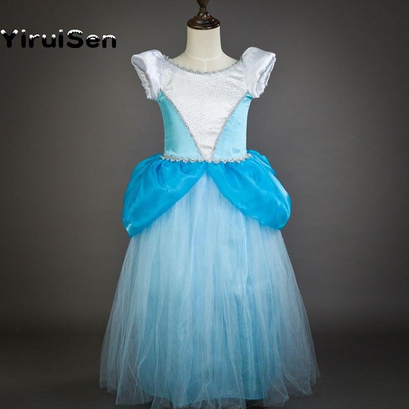 Dresses for Girls Cinderella Ball Gown Girl Party Dress Children ...