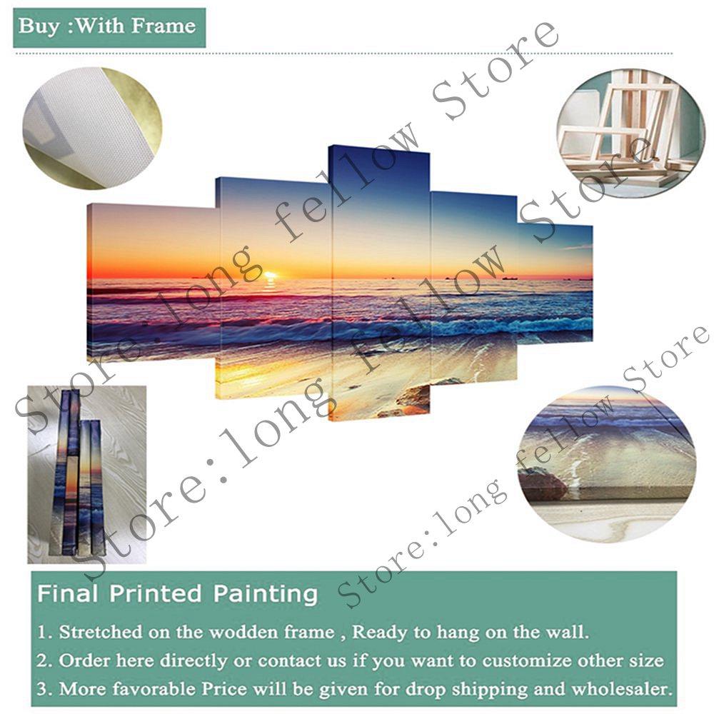 Portrait mur décor abstrait visage peinture à l'huile sur toile Impasto Figure couteau peinture mur Art photos pour décor à la maison coloré - 4