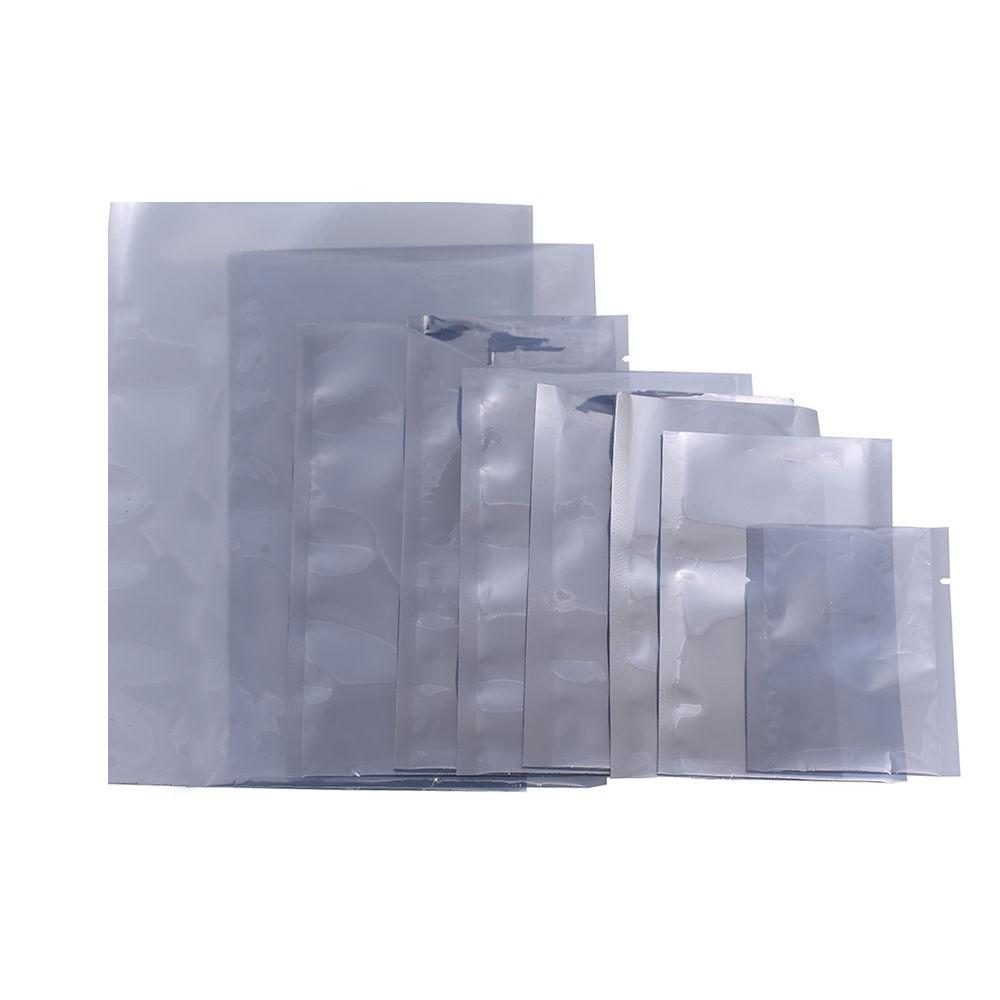 DHL 6*15cm Anti-Static Shielding Storage Bags ESD Anti Static Pack Bag Open Top Antistatic Package Bag 3