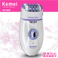 KM-2668 New 2 in 1 Women Shave Wool Device Knife Electric Shaver Wool Epilator Shaving Lady's Shaver Female Care