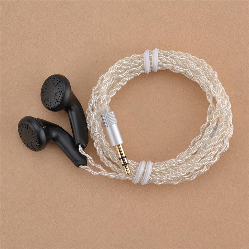 10 pièces YMHFPJ bricolage MX500 écouteurs intra-auriculaires prise de tête plate bricolage écouteur HiFi basse écouteurs DJ écouteurs lourd basse qualité sonore - 2