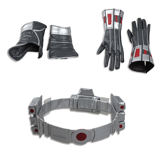 Ant-man Cosplay Costume for men Ant-man Belt Gloves Shoes cover Halloween Costume  Accessories Props For Men Cosplay Costume 22c8de9fb86a