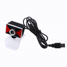 12M Pixels Clip-on Webcam Web Camera HD 360 Degree Rotating Stand Auto Focus Built-in Microphone