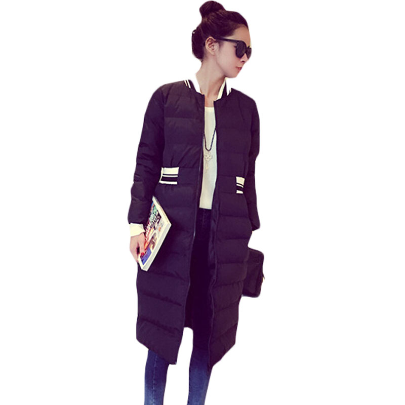 Winter Ladies Long Slim Parka Brand New Midi Warm Wadded Jacket Striped Collar and Waist Lightweight Thin Outerwear Women XH800 winter wimmelbuch midi ausgabe