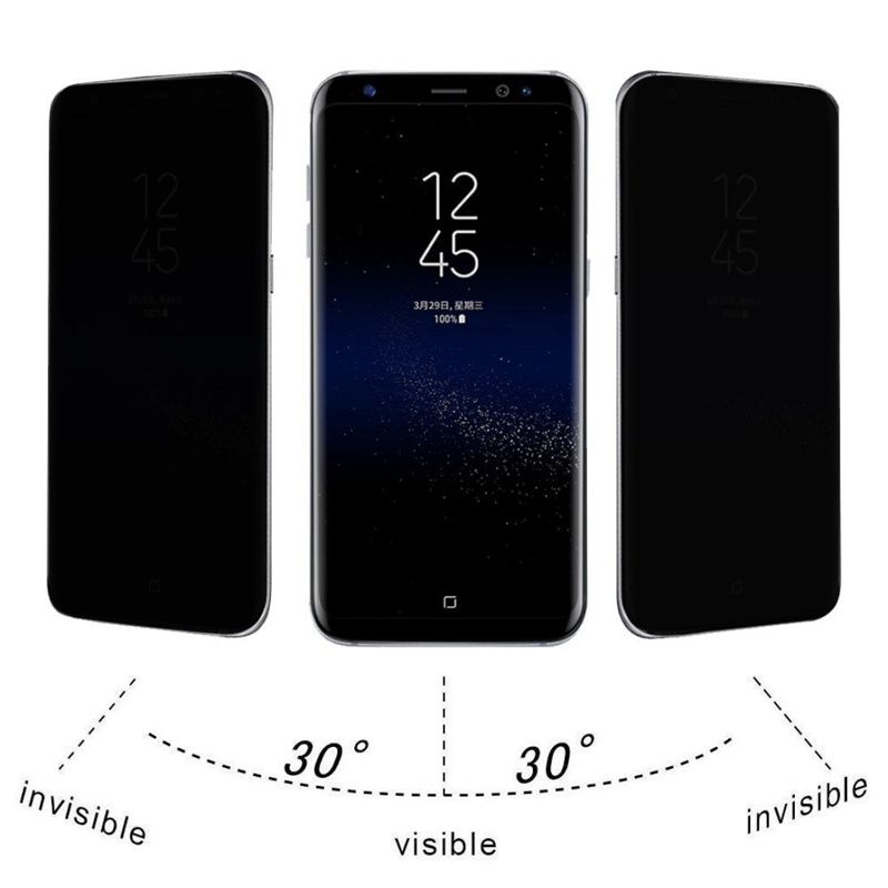 High Quality To Prevent Peeping Anti Spy Tempered Glass For Samsung Galaxy S7 S8 Plus A5 A7 2017 Screen Protector Privacy Film